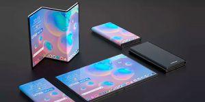 Samsung prepararía un smartphone plegable como folleto 🤯