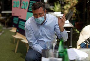 """Sichel sobre la campaña de Boric: """"Ideólogos como Fernando Atria o Daniel Jadue legitiman la violencia"""""""