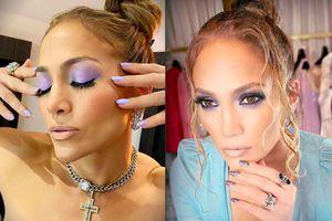 El extravagante manicure Versace con el que Jennifer Lopez mostró su lado más fashion y glamuroso