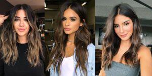Efectos de color para morenas que resaltan la belleza de tu rostro