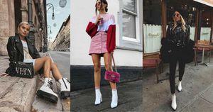 Mira estos 5 outfits con botines blancos para deslumbrar en verano