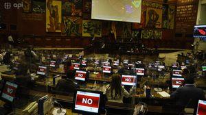 Asamblea Nacional suspendió sesión para elegir a sus autoridades; se retoma el 15 de mayo a las 15:00