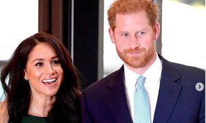 Captan en video a Meghan Markle y al príncipe Harry repartiendo comida a necesitados en cuarentena