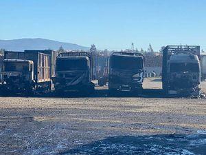 ¿Vuelve el paro? Camioneros advierten que podrían retomar las movilizaciones tras ataque incendiario en Angol