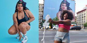 Ella es la modelo de Calvin Klein que decidió celebrar su cuerpo en lugar de esconderlo