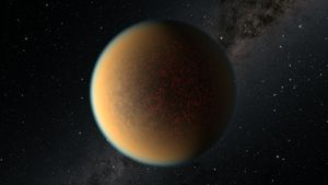 El incansable Hubble encuentra un exoplaneta que está formando una nueva atmósfera