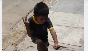 """""""Eso Tilín...vaya Tilín"""": Origen del video en el que aparece niño bailando"""