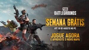 PUBG: Battlegrounds pode ser jogado de graça até segunda-feira (16)