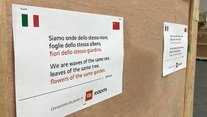 Coronavirus: Xiaomi manda miles de máscaras a Italia