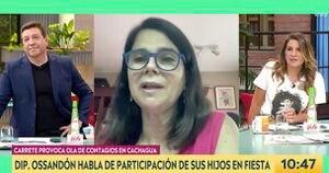 Fiesta en Cachagua: diputada Ossandón confirma que dos de sus hijos asistieron y que están contagiados con coronavirus