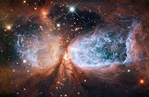 """Espacio: """"Nuevas imágenes de Hubble ayudan a descubrir que ocurre dentro de las nebulosas"""""""