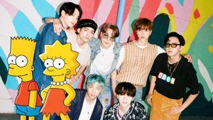 Los Simpson: BTS fue mencionado en un episodio reciente de la serie