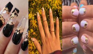 Aprende a llevar diseños de uñas doradas y mantener un estilo discreto
