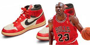 Los Nike Air Jordan 1 originales de Michael Jordan salen a subasta