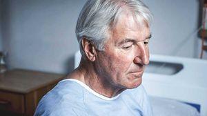 Esta foto ilustrada por un estudio muestra cómo es la óptica de las personas que sufren de demencia