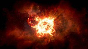 Extraño tipo de estrella a más de 4 mil años luz de distancia erupciona y se vuelve visible desde la Tierra
