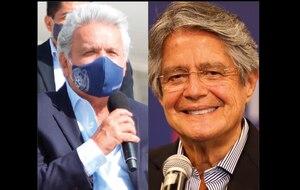 Lenín Moreno invitó a Guillermo Lasso al Palacio de Carondelet para iniciar la transición de Gobierno la próxima semana
