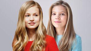 Las diferencias que tienen las hermanas Leonor y Sofía