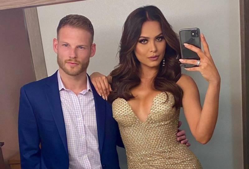 """Así fue como la """"Miss Universo"""", Andrea Meza, conoció a su novio Ryan Antonio"""