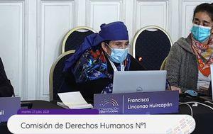 """Francisca Linconao y su potente presentación ante comisión de DD.HH.: """"Estuve un año encarcelada"""""""