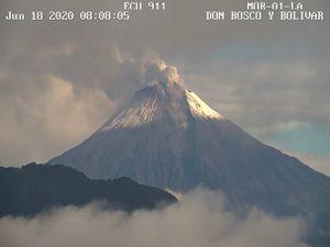 Volcán Sangay: 10 cosas que debe hacer en caso de caída de ceniza