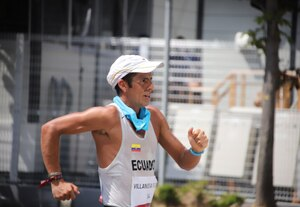 ¡Honor y respeto, Claudio! El marchista ecuatoriano que dio ejemplo de perseverancia en Tokio
