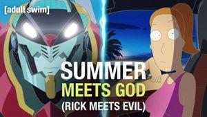 Rick y Morty: Summer conoce a Dios en nuevo corto de anime