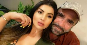 Mariana González consintió así a Vicente Fernández Jr. en su festejo por un mes más de noviazgo