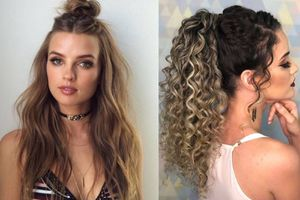 Peinados para cabellos esponjados y rebeldes que puedes hacer en 5 minutos