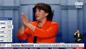 """Perdona, fue un lapsus"": Yasna Provoste llama Sebastián Piñera a Sichel"