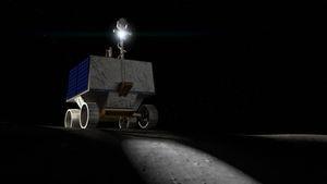 NASA enviará robô móvel ao polo sul da Lua para identificar concentração de gelo