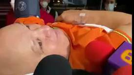 Luis de Alba llega al mismo hospital donde permanece Vicente Fernández