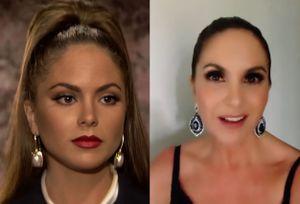 """A 26 años de su estreno, Lucero recrea escena de """"Lazos de amor"""", y así luce ahora el elenco"""
