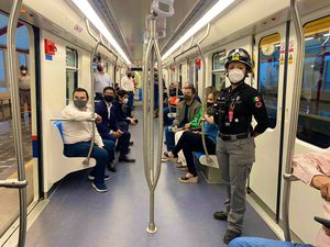 Inauguran Línea 3 del Metro de Monterrey tras años de retraso en la obra