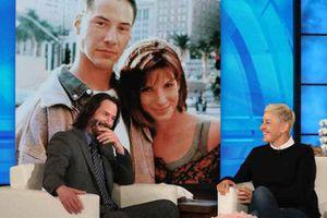 Keanu Reeves confesó que estaba enamorado de Sandra Bullock durante 'Máxima Velocidad'