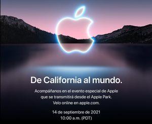 Tenemos fecha y hora del próximo Apple Event donde se presentará el iPhone 13