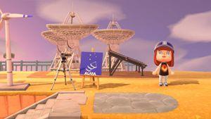 Animal Crossing: el Observatorio Alma presenta sus diseños en el juego
