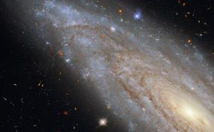 Telescópio Hubble da NASA examina uma misteriosa galáxia no espaço com 'segredo oculto'