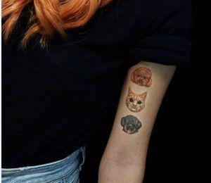 Tatuajes de animales para mujeres que aman a sus mascotas profundamente