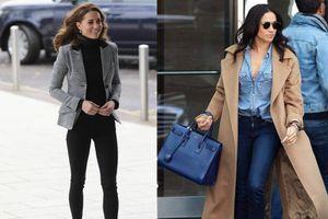 Meghan Markle y Kate Middleton tienen los jeans perfectos para estilizar la figura en el verano