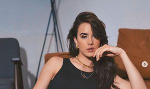 """Los divertidos tiktoks de Gala Montes en el set de """"Diseñando tu amor"""""""