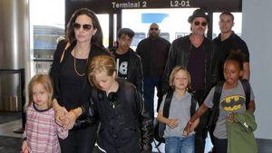 Angelina Jolie y Brad Pitt comprendieron que lo mejor para sus hijos es la crianza compartida