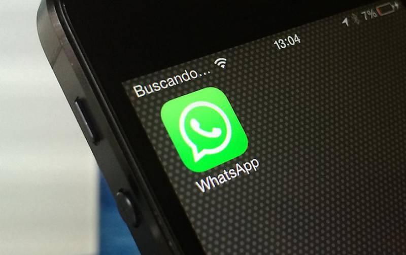 teléfono WhatsApp