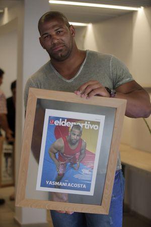 Yasmani Acosta luchará ahora  por una medalla de bronce en Tokio