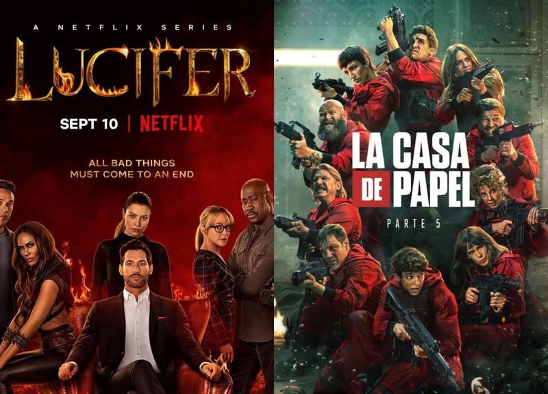 """""""Lucifer"""", """"La casa de papel"""" y las series de Netflix que finalizarán su historia"""