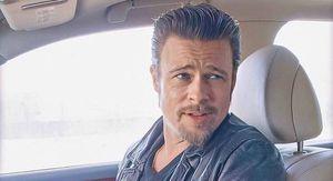 Brad Pitt llega a Francia con su nueva novia, una modelo alemana de 27 años con gran parecido a Angelina Jolie