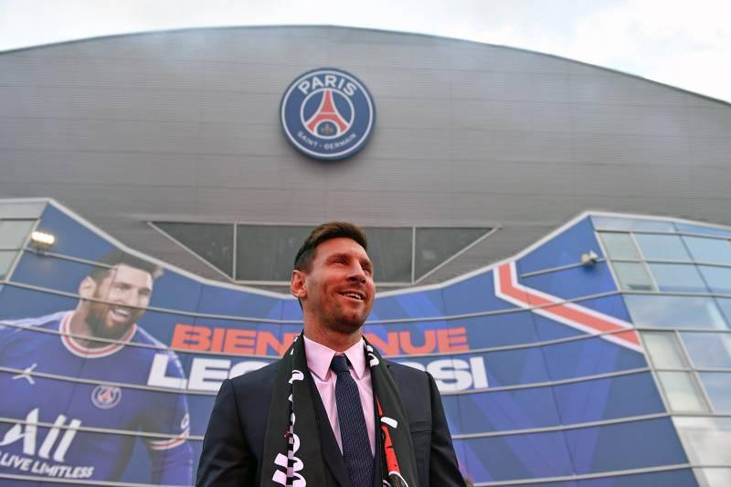 Lionel Messi Paris
