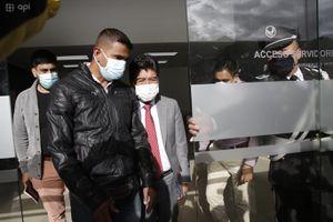 Jorge Yunda abandonó audiencia de revocatoria de medidas cautelares en medio de gritos e insultos