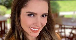 "Marlene Favela es la elegancia con este vestido lápiz blanco promocionando ""La desalmada"""