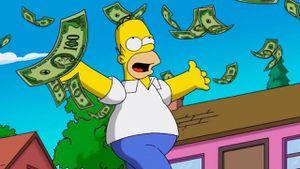 Los Simpson: Homero es millonario, hizo una fortuna en secreto